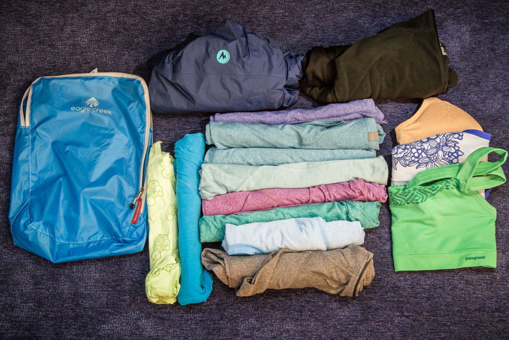 What Clothes Jayleen is packing for Around the World Travel