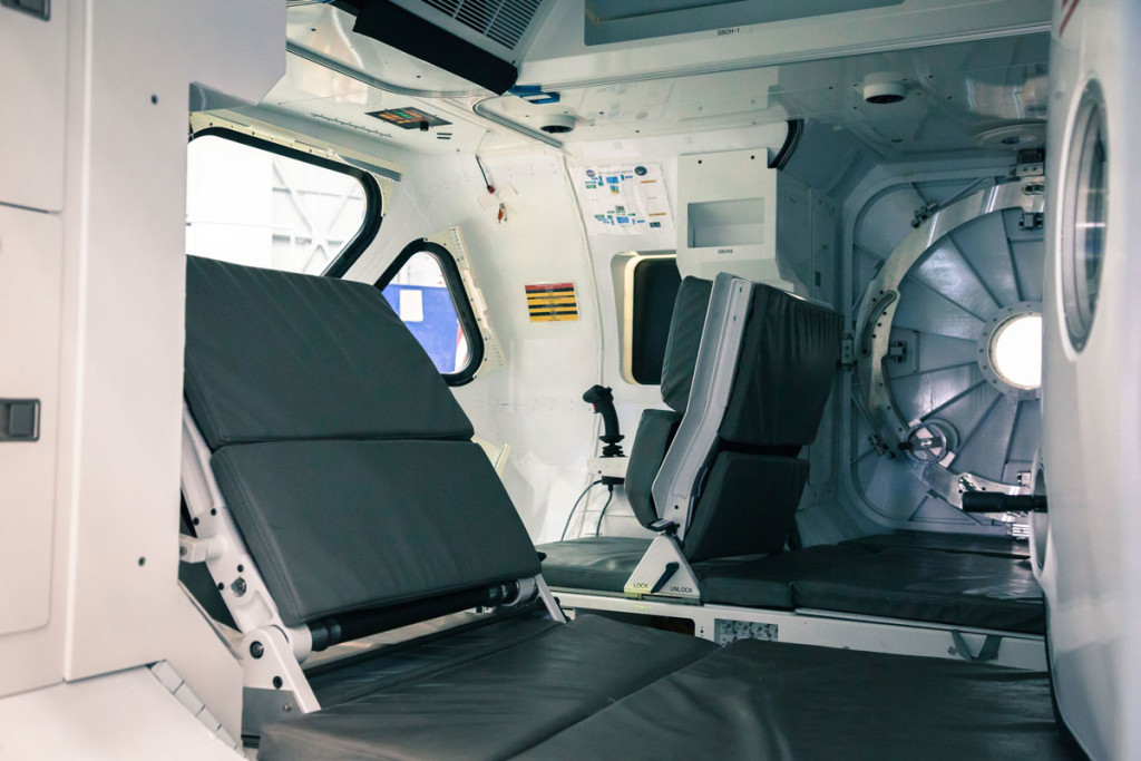 NASA SEV Interior