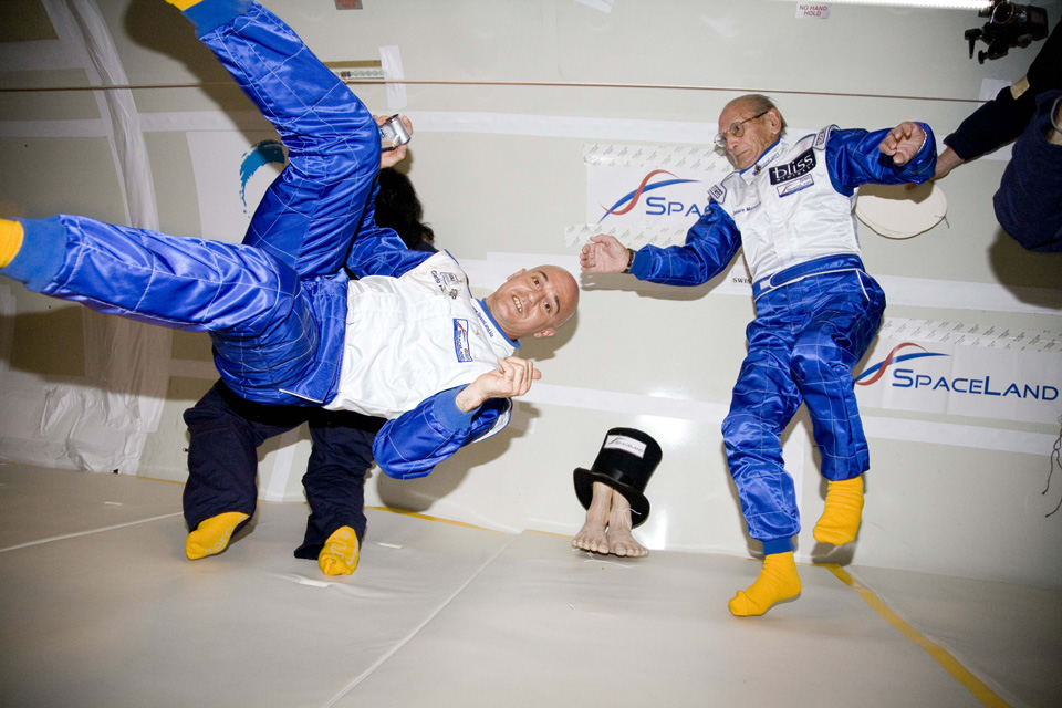 Oldest Microgravity Participant